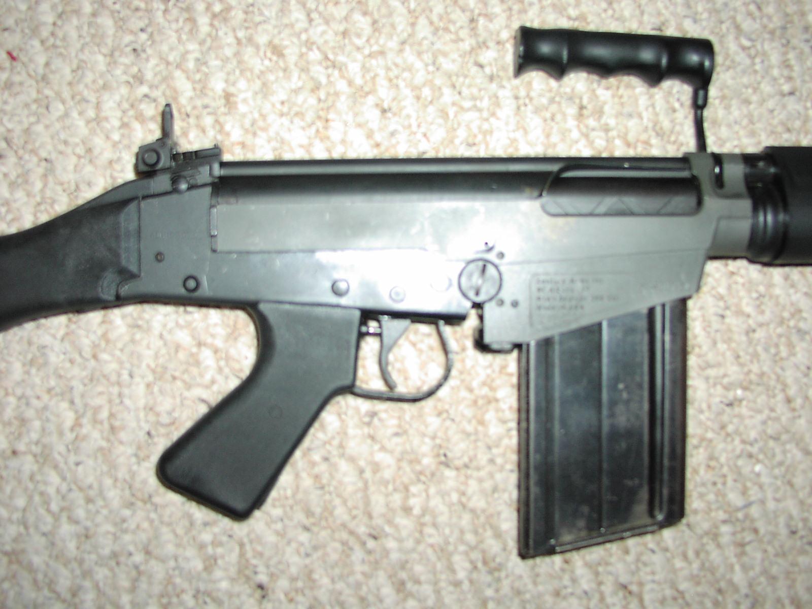 index of pics guns fn fal 308. Black Bedroom Furniture Sets. Home Design Ideas